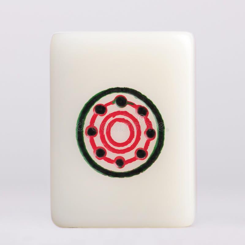 Cercles d'†de Mahjong» image stock