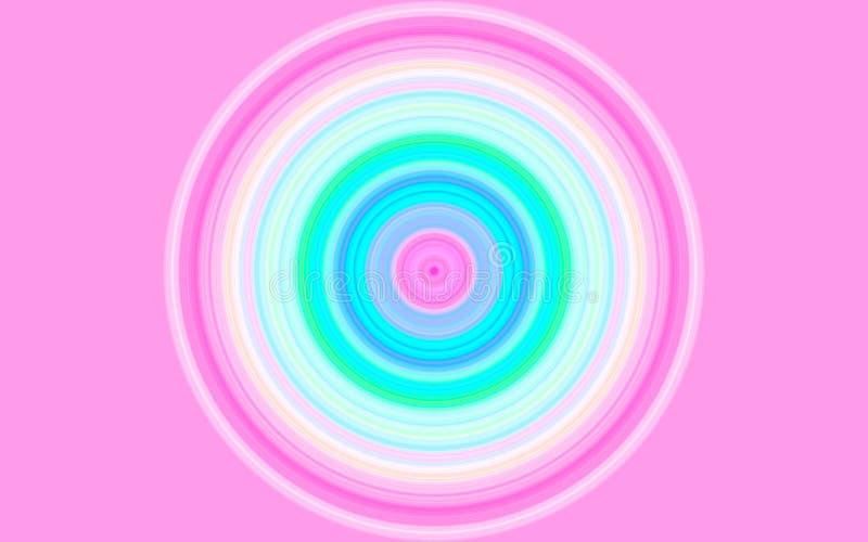 Cercles de couleur images libres de droits