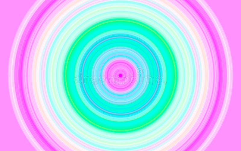 Cercles de couleur photo stock