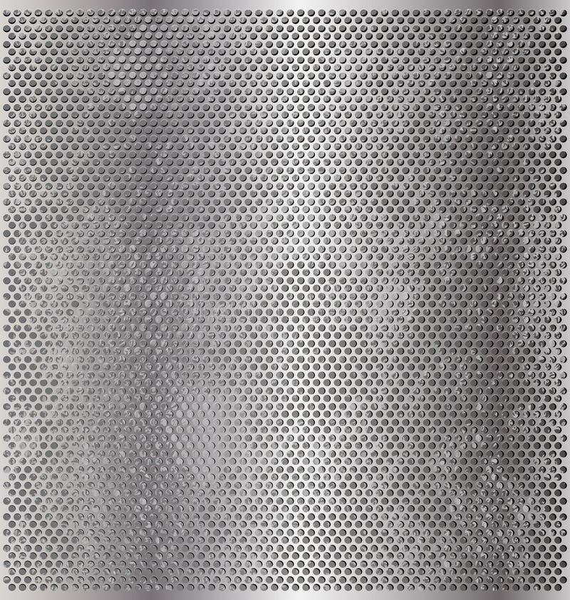 Cercles en métal illustration de vecteur