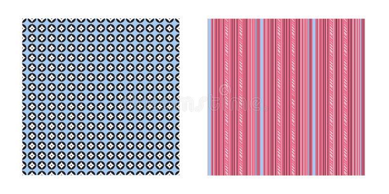 Cercles et bandes géométriques de modèle photo libre de droits