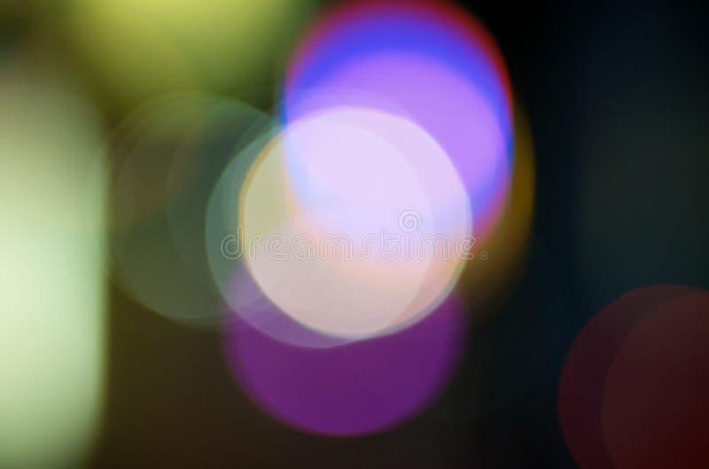 Cercles légers abstraits photographie stock