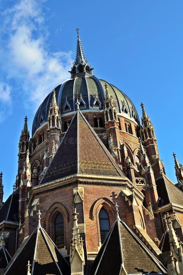 Cerco Wien del vom de Maria de la iglesia fotografía de archivo libre de regalías