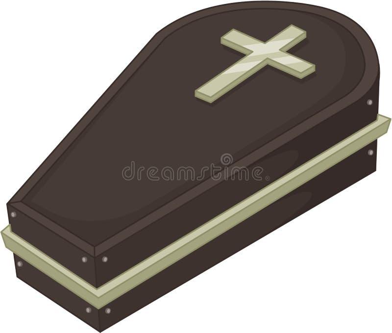 Cercueil illustration libre de droits