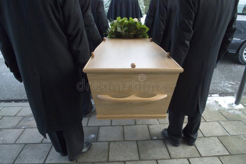 Cercueil image stock