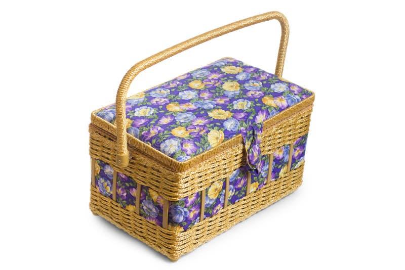 Cercueil de panier en osier photo stock image du d ner - Panier decoratif osier ...