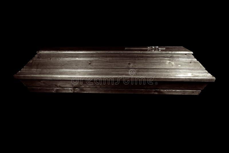 Cercueil noir images stock
