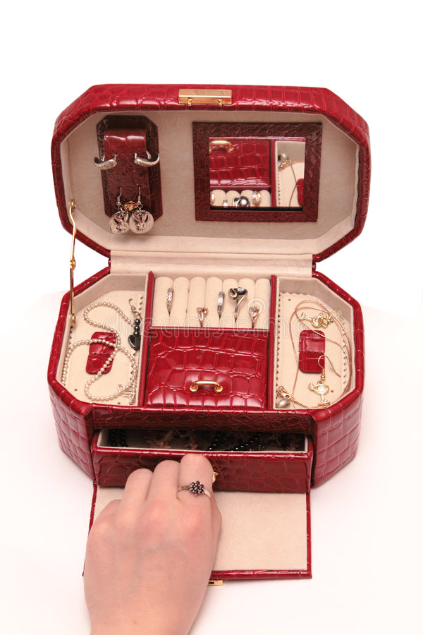 cercueil rouge