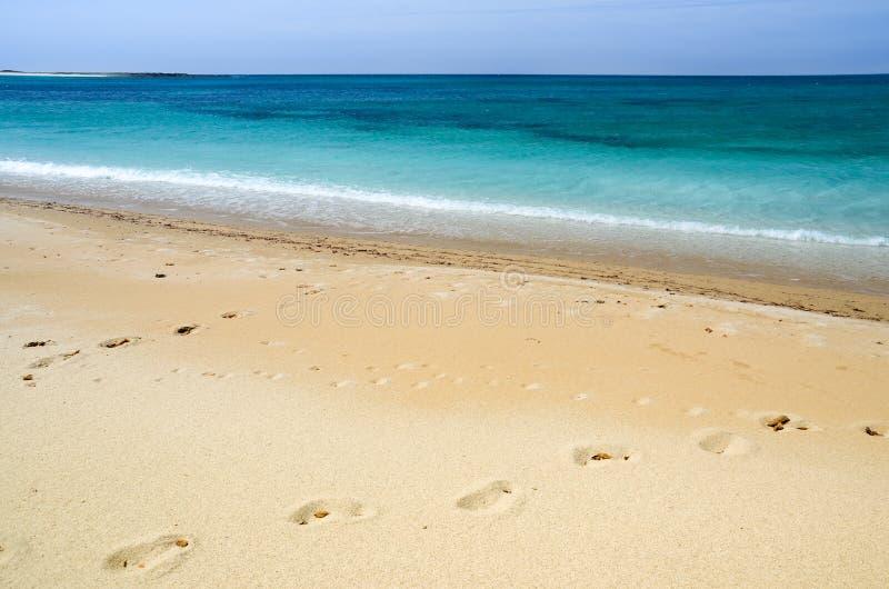 Cerdeña, playa de Maimoni foto de archivo libre de regalías