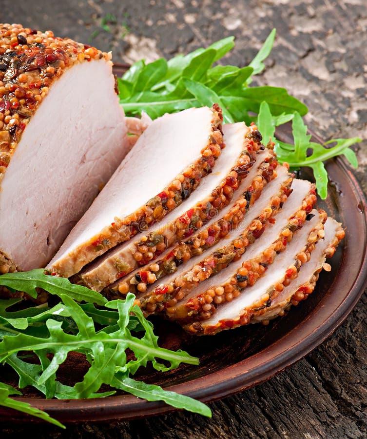 Download Cerdo cocido imagen de archivo. Imagen de gordo, abundancia - 41921287