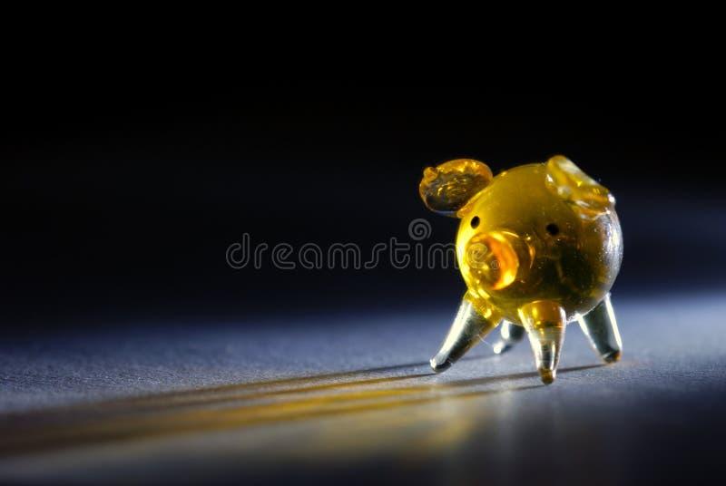 Cerdo de cristal minúsculo fotos de archivo libres de regalías