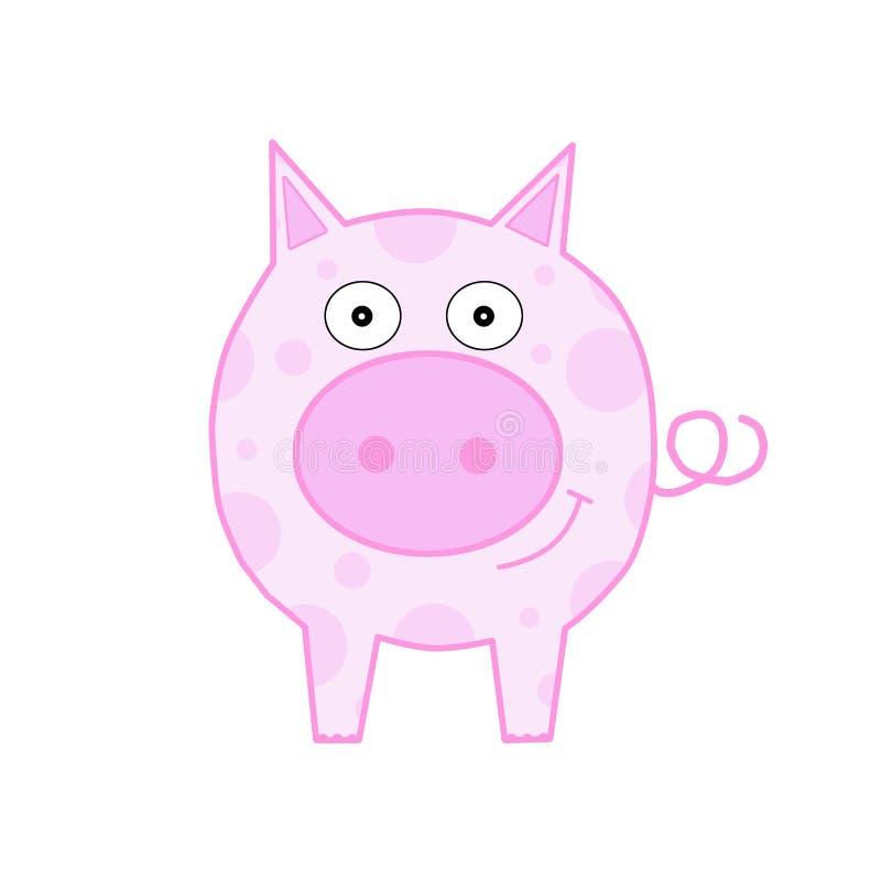 Cerdo sonriente libre illustration