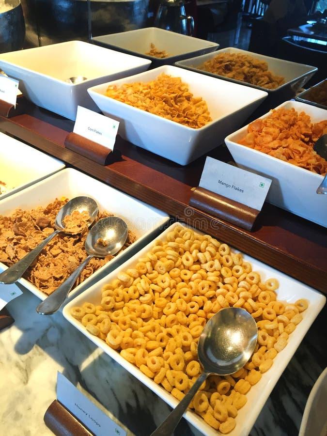 Cereais de café da manhã imagem de stock