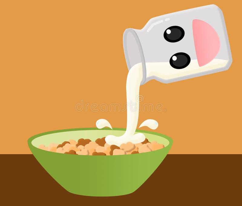 Cereal ilustração stock