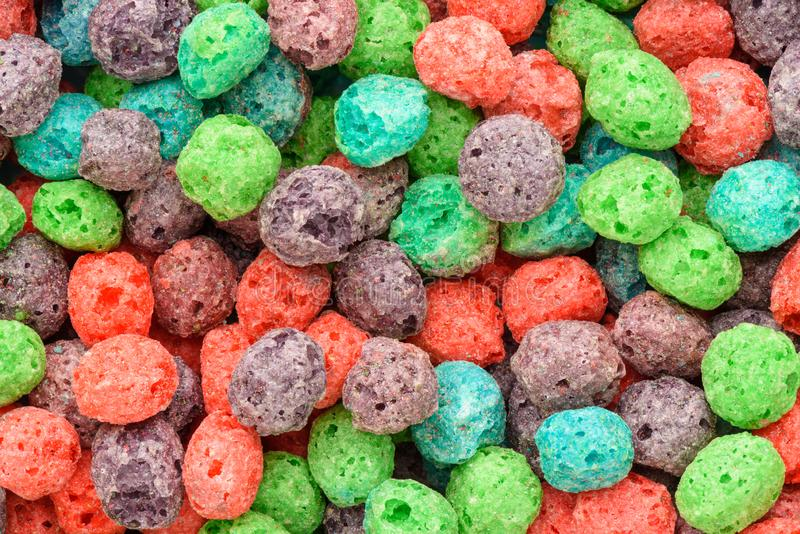 Colorful breakfast food. Cereal background. Cereal background. Colorful breakfast food stock photos