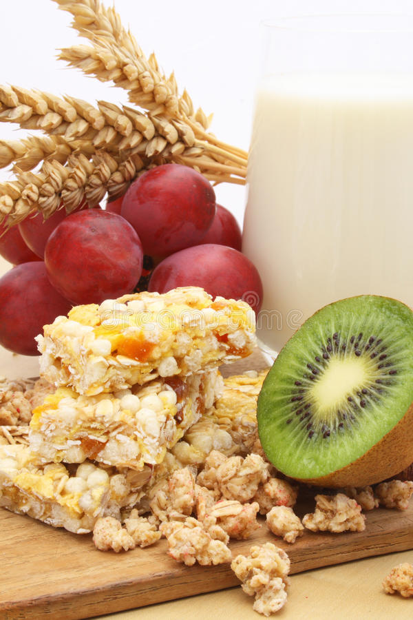 Download Cereal bar stock photo. Image of milk, wheat, wholesome - 24249504