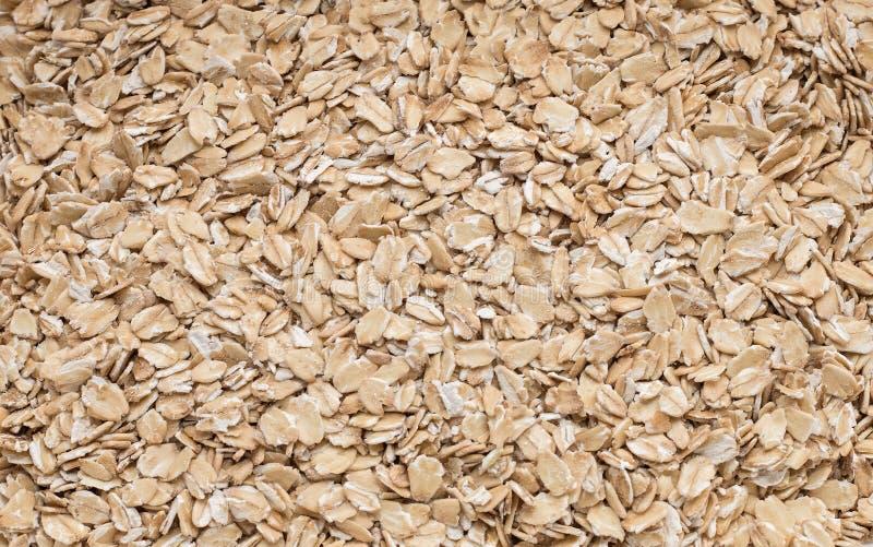 Cereal beige crujiente orgánico del granola del desayuno de Muesli foto de archivo