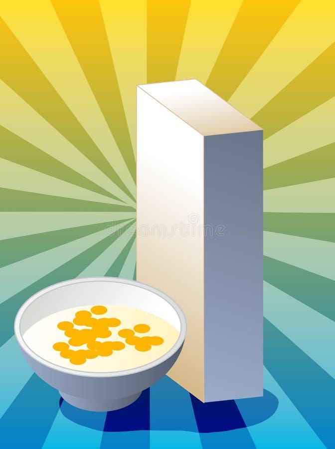 Download Cereal box stock vector. Image of nutrition, milk, vector - 6632611