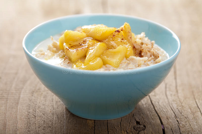 Download Cereal With Caramelized Apple Stock Photo - Image: 26324444