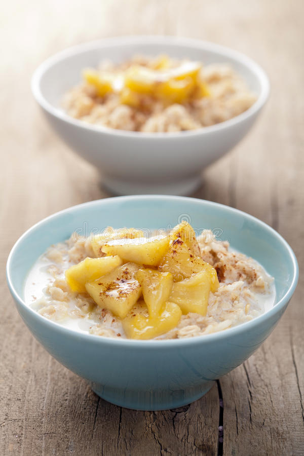 Download Cereal With Caramelized Apple Stock Image - Image: 28790871