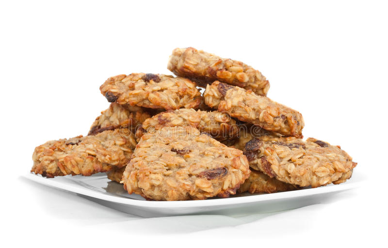 Download Cereal cookies stock image. Image of healthy, plate, natural - 10876697