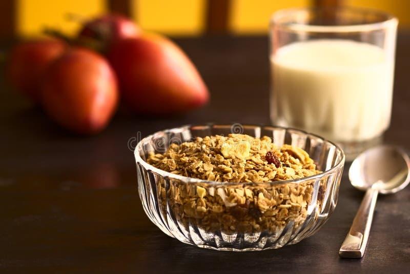 Cereal de desayuno imagenes de archivo