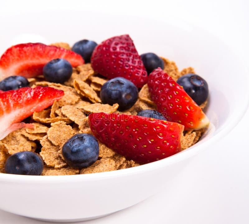 Cereal de pequeno almoço foto de stock