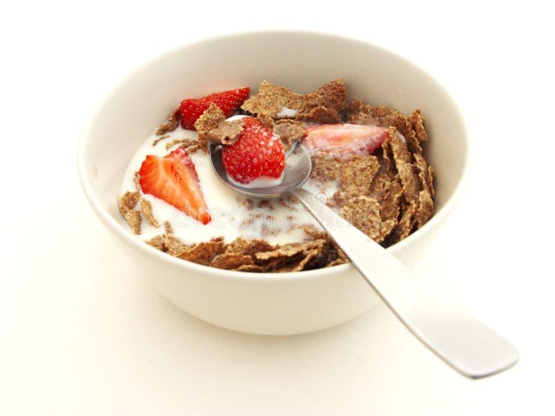 Cereal do farelo de Raisin imagem de stock royalty free