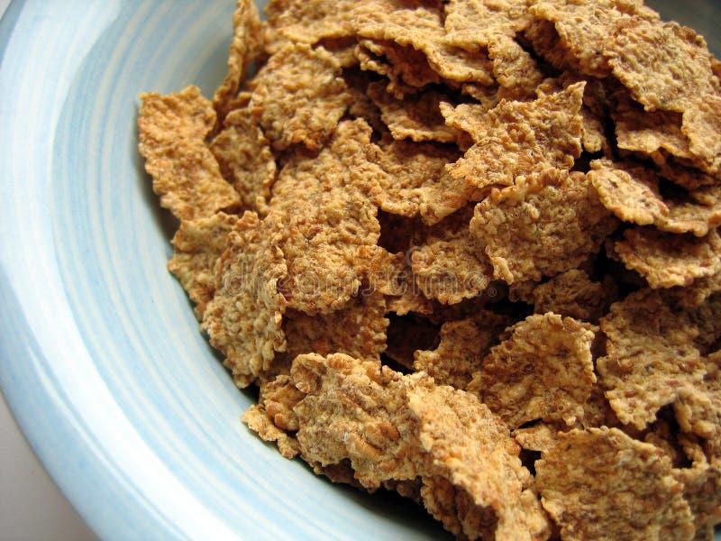 Cereal en tazón de fuente imágenes de archivo libres de regalías