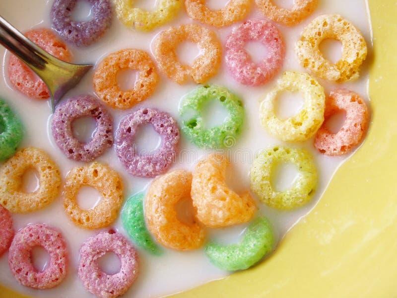 Cereal Fruity do imagem de stock
