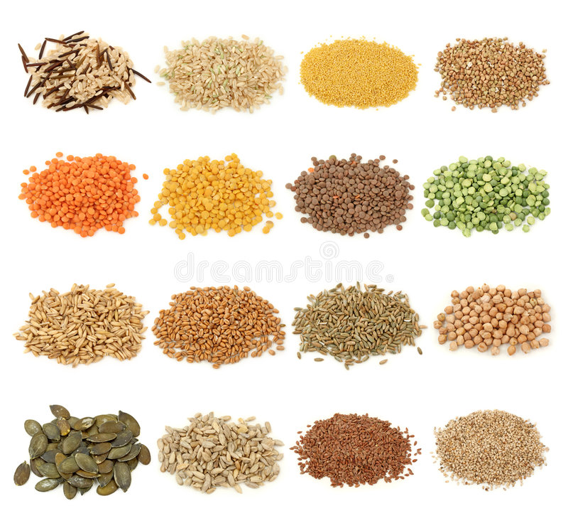 Free Cereal,grain And Seeds Royalty Free Stock Photo - 8521395