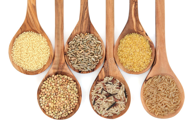 Cereal and Grain Food royalty free stock photography
