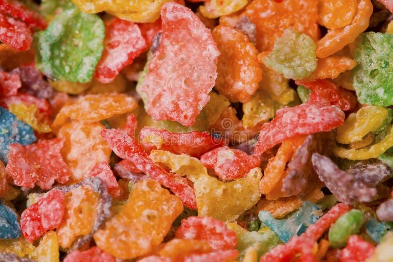 Cereal macro imágenes de archivo libres de regalías
