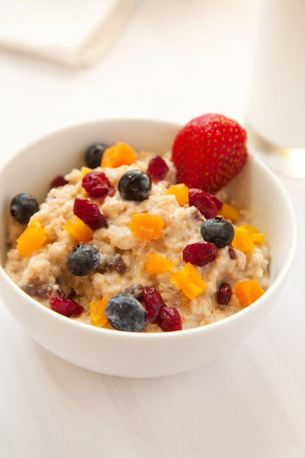 Cereal quente do Granola imagens de stock royalty free