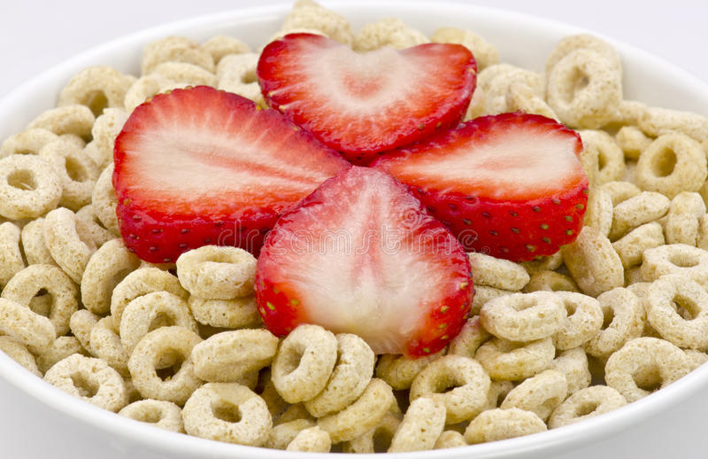 Cereal saudável da aveia foto de stock royalty free