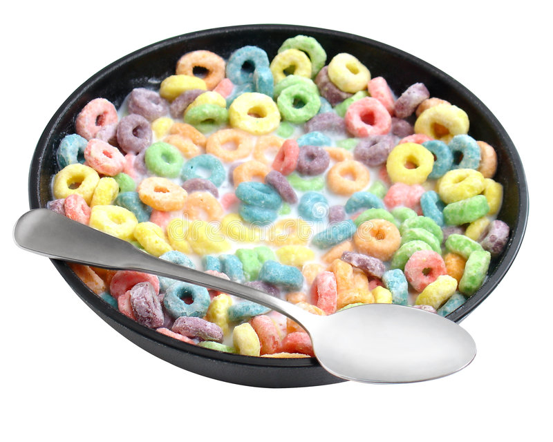Cereal two stock image