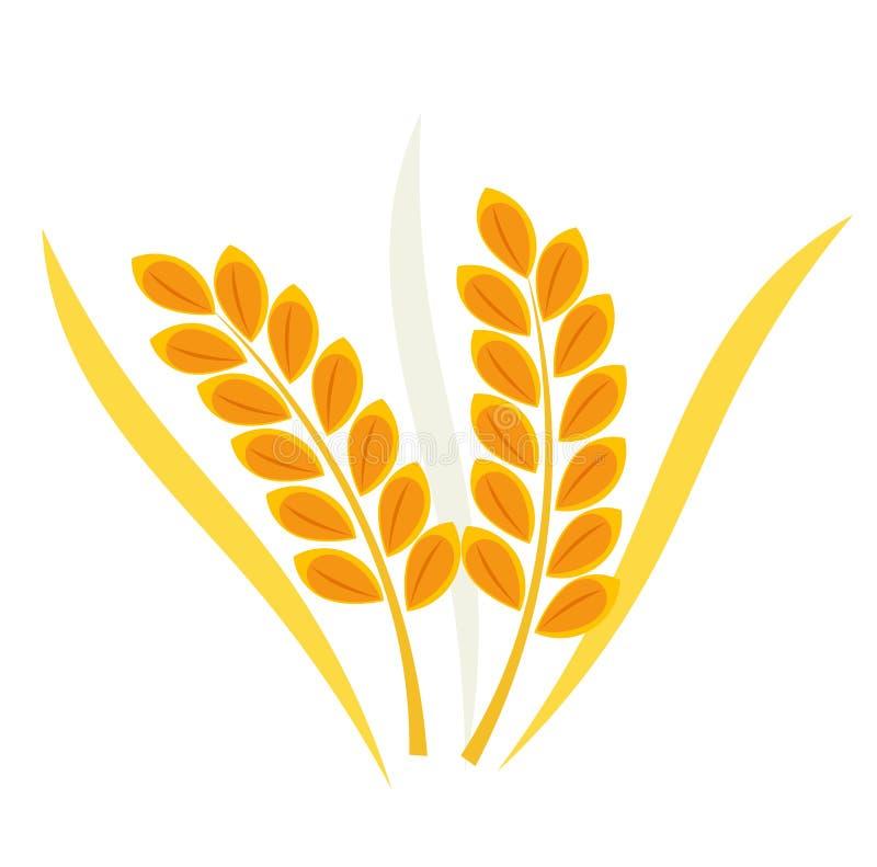 Cereal Wheat Ear Stock Vector