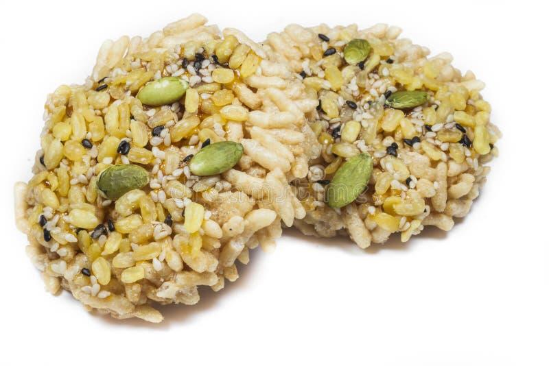 Cereale croccante del riso fotografia stock libera da diritti