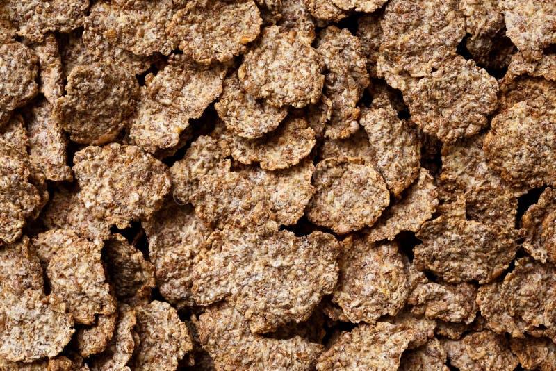 Cereale da prima colazione della crusca di frumento fotografie stock libere da diritti