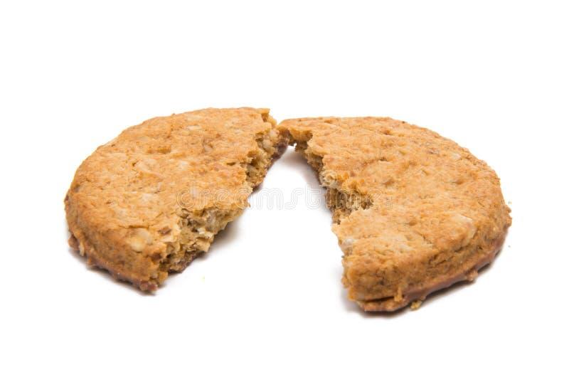 Cereale del biscotto fotografia stock libera da diritti