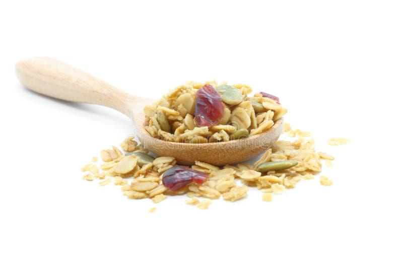 Cereale del Granola immagini stock