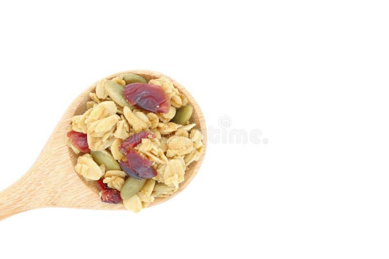 Cereale del Granola fotografie stock libere da diritti