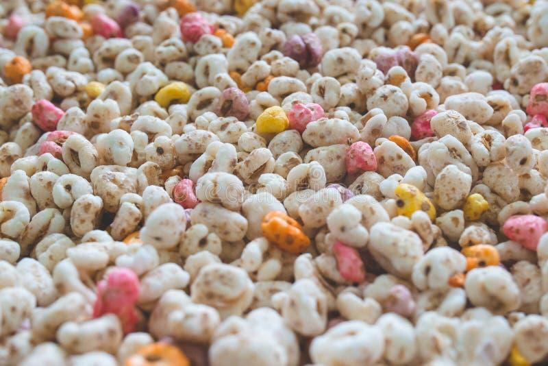 Cereale espanso del grano immagini stock