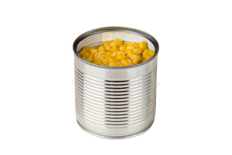 Cereale inscatolato su un fondo bianco fotografie stock libere da diritti