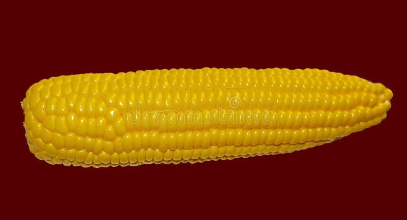 Cereale maturo giallo che si trova sulla tavola fotografia stock libera da diritti