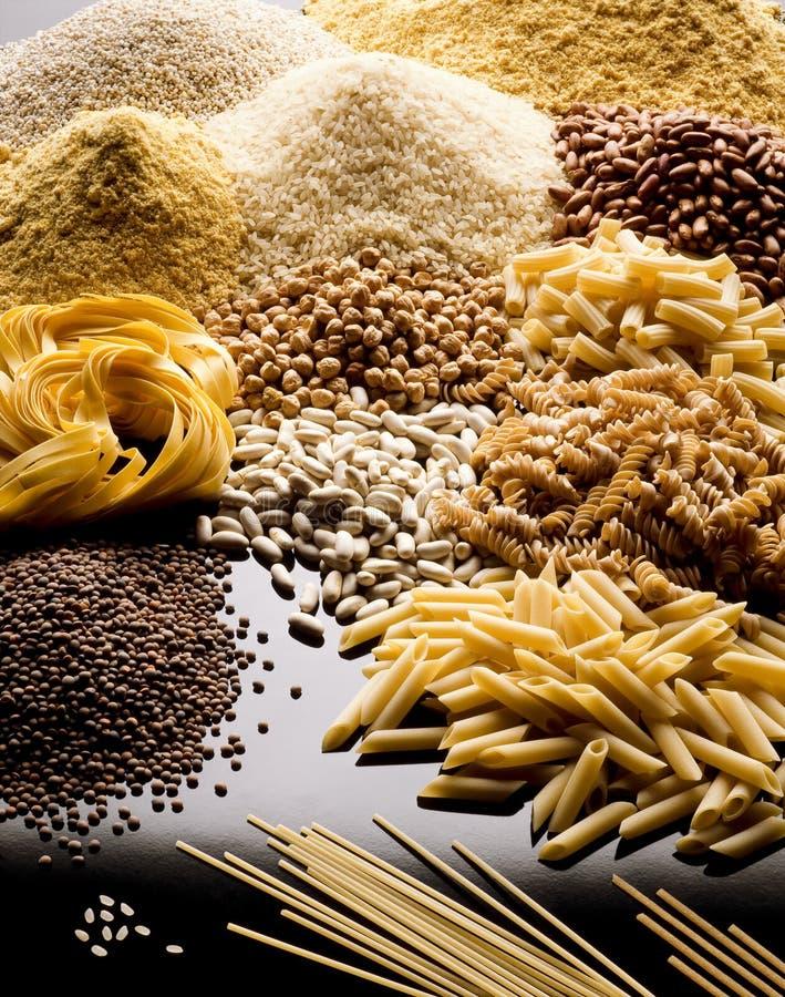 Cereali della pasta immagine stock