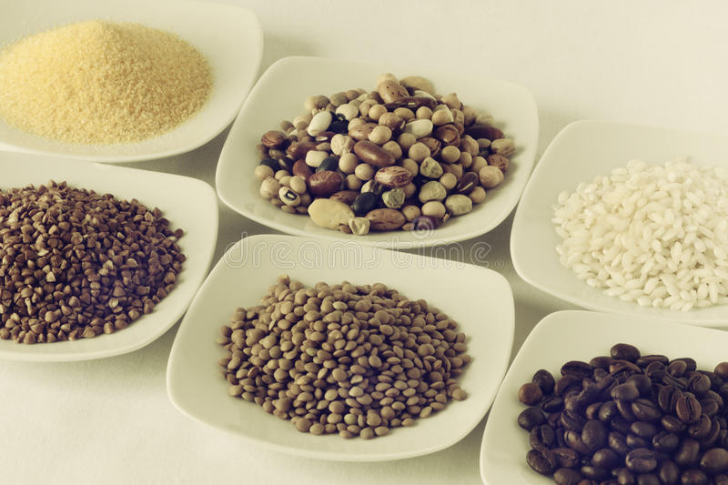 Cereals. The cereals on the background kitchen royalty free stock images