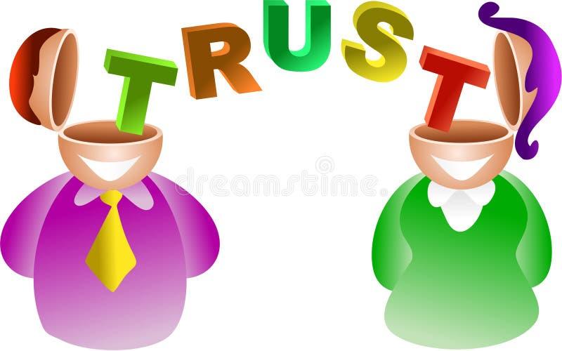 Cerebro de la confianza libre illustration
