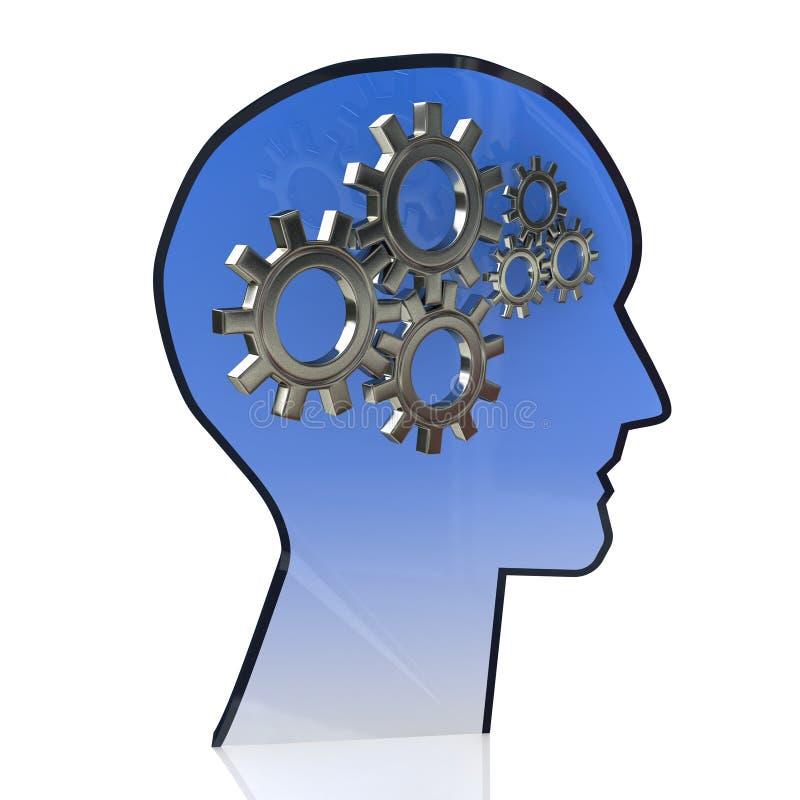 Cerebro de los engranajes libre illustration