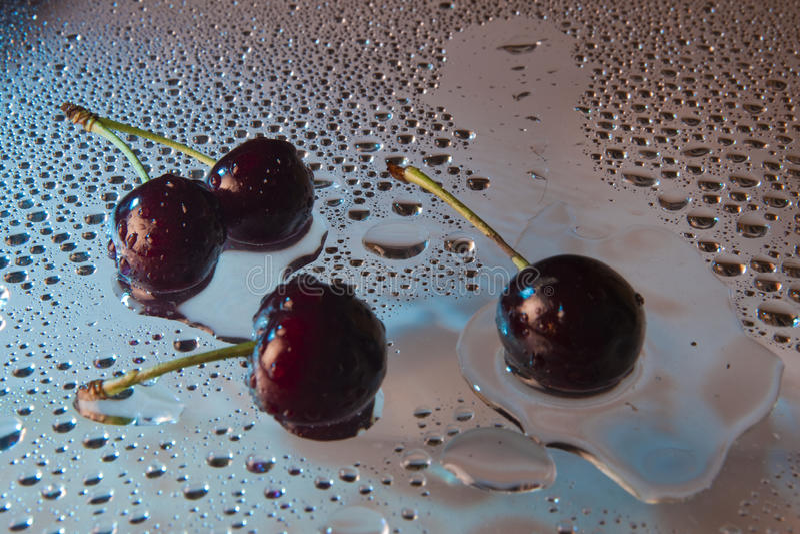 Cereja doce. imagem de stock